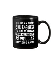 TELLING AN ANGRY CIVIL ENGINEER TO CALM DOWN Mug thumbnail