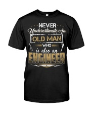 NEVER UNDERESTIMATE AN ENGINEER Classic T-Shirt thumbnail