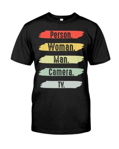 Cognitive Test Person Woman Man Camera TV