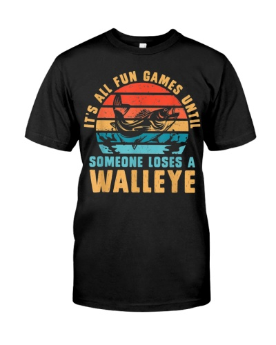 Someone Loses A Walleye Fishing
