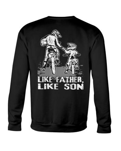 Like Father Like Son motocross