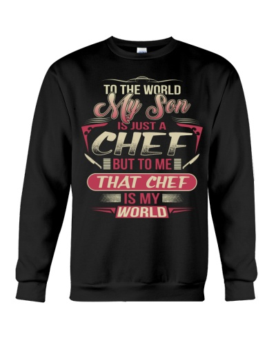 THAT CHEF IS MY WORLD