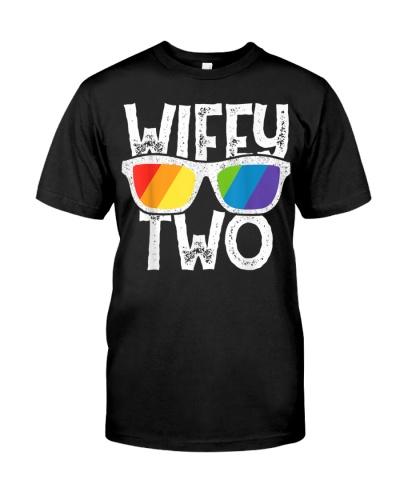 Wifey Two Lesbian Pride LGBT