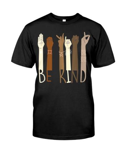 Be Kind Hand Sign Language