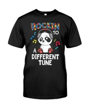 Rockin' To A Different Tune Classic T-Shirt front