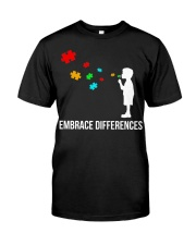 Embrace Differences Classic T-Shirt front
