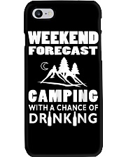 Weekend Forecast Camping Phone Case thumbnail