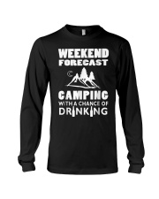 Weekend Forecast Camping Long Sleeve Tee thumbnail