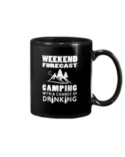 Weekend Forecast Camping Mug thumbnail