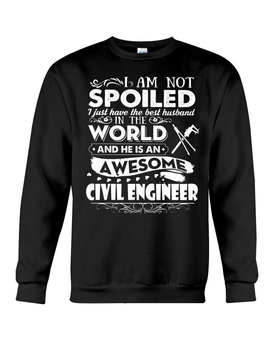 HE IS AN AWESOME CIVIL ENGINEER Crewneck Sweatshirt