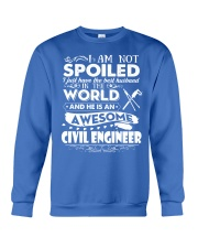 HE IS AN AWESOME CIVIL ENGINEER Crewneck Sweatshirt front