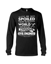HE IS AN AWESOME CIVIL ENGINEER Long Sleeve Tee thumbnail