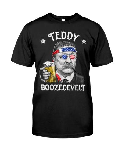 Teddy Boozedevelt 4th of July Drinking