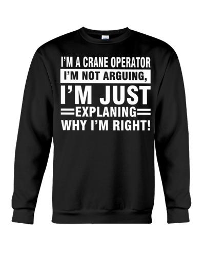 CRANE OPERATOR I AM NOT ARGUING