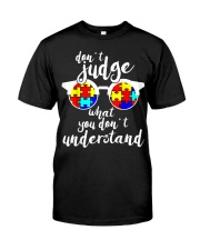 Autism Gift Design For Autistic Kids Awareness Classic T-Shirt front