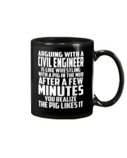 ARGUING WITH A Civil Engineer Mug thumbnail