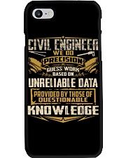 Civil Engineer WE DO PRECISION Phone Case thumbnail