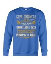 Civil Engineer WE DO PRECISION Crewneck Sweatshirt front