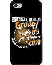 GRUMPY OLD CIVIL ENGINEER CLUB Phone Case thumbnail