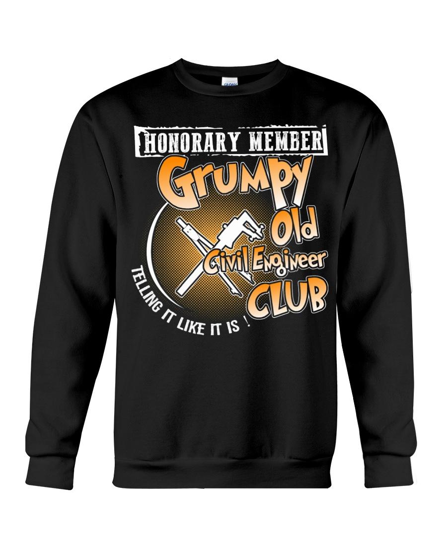 GRUMPY OLD CIVIL ENGINEER CLUB Crewneck Sweatshirt