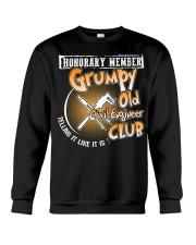 GRUMPY OLD CIVIL ENGINEER CLUB Crewneck Sweatshirt front