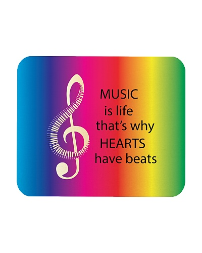 Music Is Life That's Why Hearts Have Beats