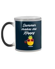 Summer Makes Me Happy Color Changing Mug color-changing-left
