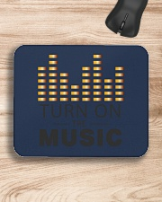 Turn On The Music Mousepad aos-mousepad-front-lifestyle-1