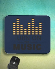 Turn On The Music Mousepad aos-mousepad-front-lifestyle-3