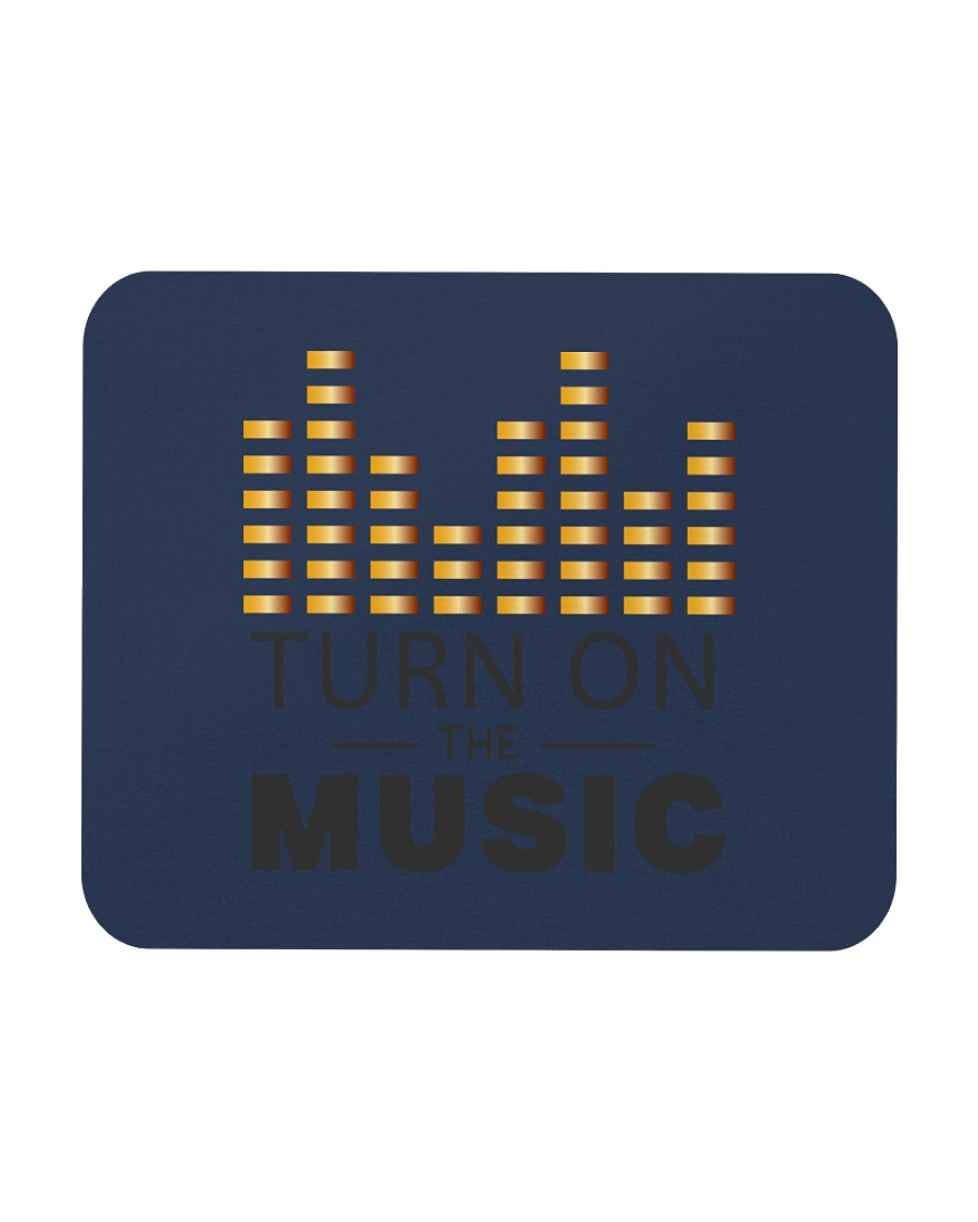 Turn On The Music Mousepad