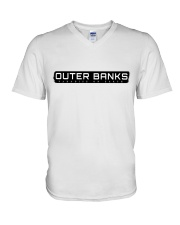 OUTER BANKS - PARADISE ON EARTH V-Neck T-Shirt thumbnail