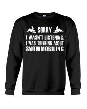 SNOWMOBILING Crewneck Sweatshirt thumbnail