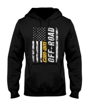 FLAG CAN Hooded Sweatshirt front