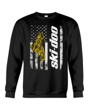 FLAG SKI YELLOW Crewneck Sweatshirt thumbnail