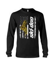 FLAG SKI YELLOW Long Sleeve Tee thumbnail