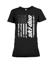 SKI FLAG Premium Fit Ladies Tee tile