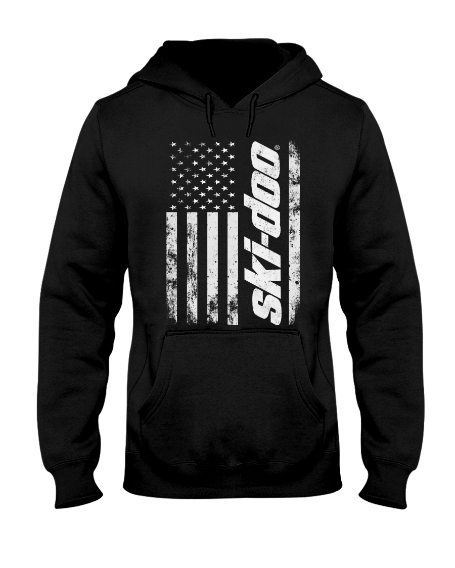 SKI FLAG Hooded Sweatshirt