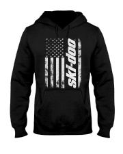 SKI FLAG Hooded Sweatshirt front
