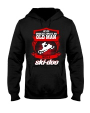 OLD MAN SKI Hooded Sweatshirt front