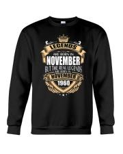Kings Legends Are Born In November 1960 Crewneck Sweatshirt thumbnail