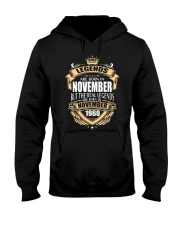 Kings Legends Are Born In November 1960 Hooded Sweatshirt front
