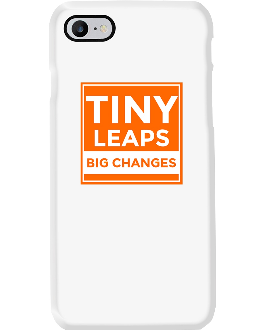 Tiny Leaps Big Changes Merch Phone Case