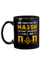 The Most Important Call Me Dad Mug back