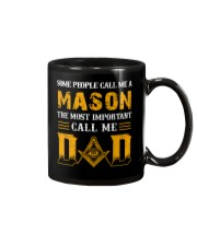 The Most Important Call Me Dad Mug front
