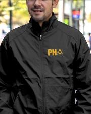 PHA Masonic Embroidery Jacket Lightweight Jacket garment-embroidery-jacket-lifestyle-02