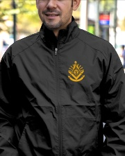 Past Master Embroidery Jacket Lightweight Jacket garment-embroidery-jacket-lifestyle-02