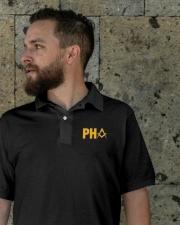 PHA Masonic Embroidery Polo Shirt Classic Polo garment-embroidery-classicpolo-lifestyle-08