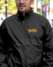SMIB Masonic Embroidery Jacket Lightweight Jacket garment-embroidery-jacket-lifestyle-02