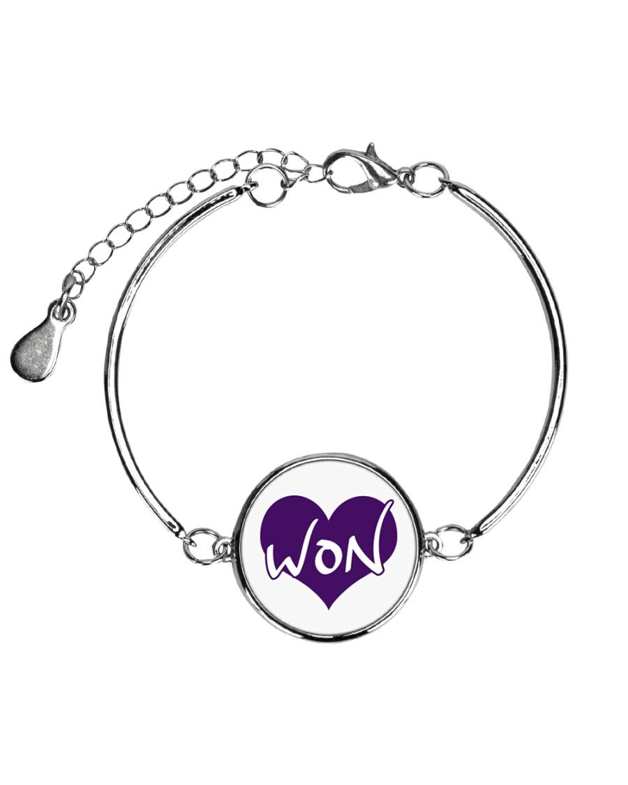 WONLove Metallic Circle Bracelet