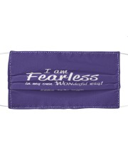 I Am Fearless wh Cloth face mask front